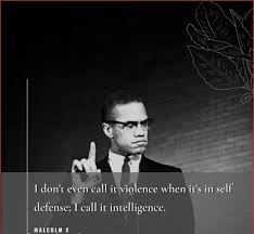 I'm nonviolent with those who are nonviolent with me. 35 Famous Malcolm X Quotes For Education Equality With Images
