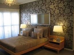 bedroom wallpaper feature wall 33 decor ideas