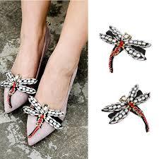 animal shoes ornaments sandals high heels shoes clip diy manual metal shoe decoration bridal wedding shoe