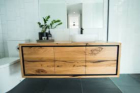 recycled furniture design. Solid Timber Bathroom Vanity Recycled Furniture Design