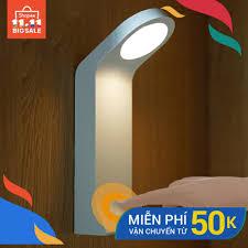 Đèn LED sạc USB cảm ứng nhạy 3 chế độ gắn tường làm đèn ngủ/đèn bàn cho  phòng ngủ/phòng học