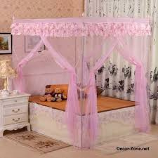 Canopy Bed Curtains For Girlu0027s Room   Bedroom Curtain Ideas