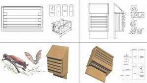 free plans for building bat houses beautiful outstanding plans for bat house exterior ideas 3d gaml