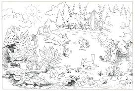 Coloring Pages Forest Animals Forest Animals Coloring Pages Forest Animals Coloring Pages Download