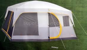 Coleman 16' X 10' 10 Person Weathermaster II Screened Camping Tent