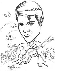 elvis coloring pictures. Interesting Pictures 15 Best Elvis Coloring Pages Images On Pinterest  Celebrities Coloring  Pages And Drawings Throughout Pictures