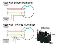 house wiring diagram nest with bypass humidifier and powered and nest 3rd generation wiring diagram at Nest Gen 3 Wiring Diagram