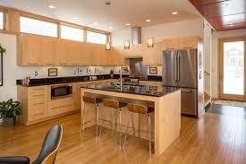 Energy Efficient Kitchen Interior with Mini Bar