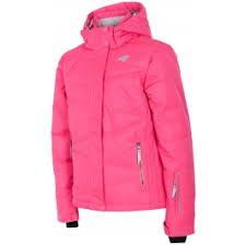 <b>Ski jacket</b> for younger <b>children</b> (<b>girls</b>) JKUDN300 - fuchsia