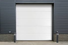 insulated sectional steel back doors