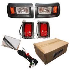 club car ds headlight kit Golf Cart Electrical System Diagram Golf Cart Light Kit Wiring Diagram #49