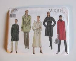 Trench Coat Pattern Stunning Trench Coat Sewing Pattern EBay