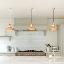 Copper Kitchen Lights Coolicon Industrial Pendant Light Polished Hanging Lights