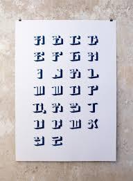 Number Stencil Font Stencil Font Lucas Grassmann