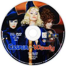 casper and wendy movie. casper meets wendy dvd disc image and movie