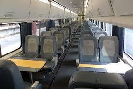 Business Class Seats On Amtraks Acela Express Train