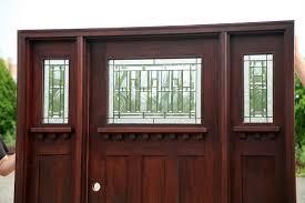 craftsman style front doorCraftsman Doors  Craftsman Style Doors with Sidelights