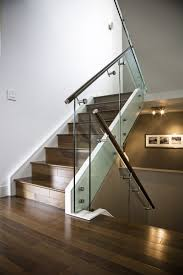 Staircase Side Railing Designs Side Mount Glass Clamp For Staircase Glass Railing
