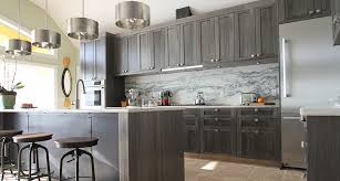 kitchen cabinets gray stain grey stained cabinetry kitchen designed by t2thes via kishani perera modern kitchen