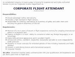 Entry Level Flight Attendant Resume Enchanting Best Of Flight Attendant Experience Resume Resume Design