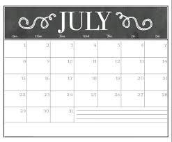 July 2018 Waterproof Calendar Max Calendars