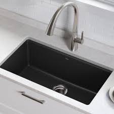 Kgu 413b Kraus 31 L X 17 W Undermount Kitchen Sink With Drain