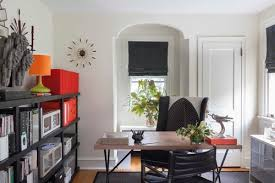 eclectic home office by philadelphia kitchen bath designershannah dee interiors