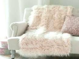 blush sheepskin rug blush faux fur pillow pink fur throw pillow for pink fur rug