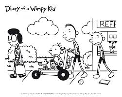 Diary Of A Wimpy Kid Pictures To Print Free Coloring Pages On Art