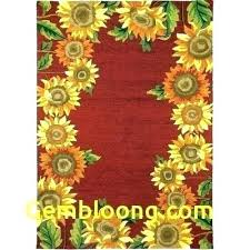 sunflower kitchen rugs sunflower kitchen rugs modern sunflower kitchen rugs fresh 8 by rugs than inspirational sunflower kitchen rugs