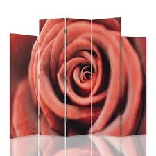 panels canvas flower rose