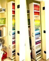 deep closet ideas narrow linen organization li