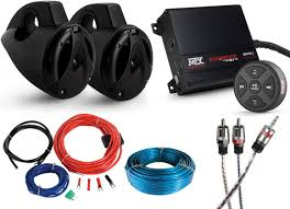 audio systems and radios for the kubota rtv sidebysidestuff com kubota excavator stereo at Kubota Wiring Harness Radio