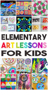 Elementary Art Lesson Plans 36 Elementary Art Lessons For Kids Happiness Is Homemade