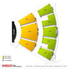 Michael Jackson Cirque Vegas Seating Chart 69 Abiding Mandalay Theater Seating Chart
