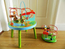 wooden bead table and bead toy