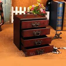 awesome wooden storage drawers wooden makeup organizer with drawers vintage wooden storage box jewelry makeup organizer awesome wooden storage