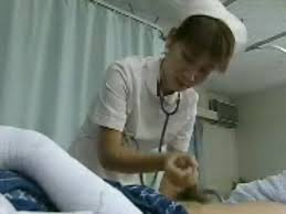 Hand job by asain nurses