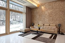 Wood Walls Living Room Design Wooden Claddings Provide Walls With Contemporary Look Project Vendor