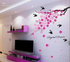 >wall art best sample pictures wall art home decor posters and  vintage plant wall art home decor pink tree black birds best islamic stickers sale decal contemporary