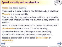 Speed Vs Velocity Speed Vs Velocity Mozo Carpentersdaughter Co