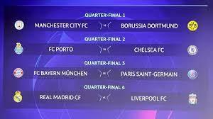 دوري أبطال أوروبا: بايرن ميونيخ-باريس سان جرمان وريال مدريد-ليفربول في ربع  النهائي