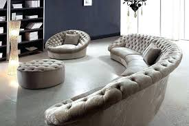 circular sectional white leather impressive fabric sofa chair and round ottoman throughout uk circular sectional white leather round sofa