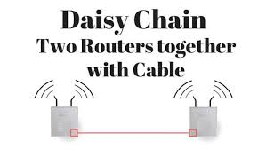 how to daisy chain two wireless routers using ethernet wire cables Daisy Chained Wiring Daisy Chained Wiring #59 daisy chained wiring