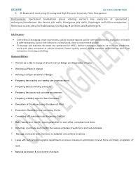 Revenue Inspector Resume Acepeople Co