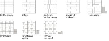 Rectangle Tile Patterns Extraordinary Tile Patterns Emser Tile