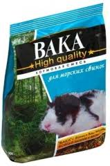 <b>Корм</b> для морских свинок <b>Вака High Quality</b> - интернет-магазин ...