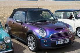 Road Cars London To Brighton 2008 Bmw Mini Cooper S Convertable Purple 080518 Steven Gray Img 5882 Mini Cooper Mini Cooper Custom Mini Cooper Convertible