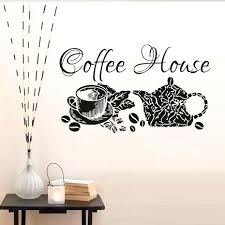 coffee shop wall decor good is a pleasure lover quote .