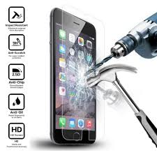 Premium Tempered <b>Glass</b> Screen Protector for <b>iPhone</b> 5 <b>5S</b> SE 6 6S ...